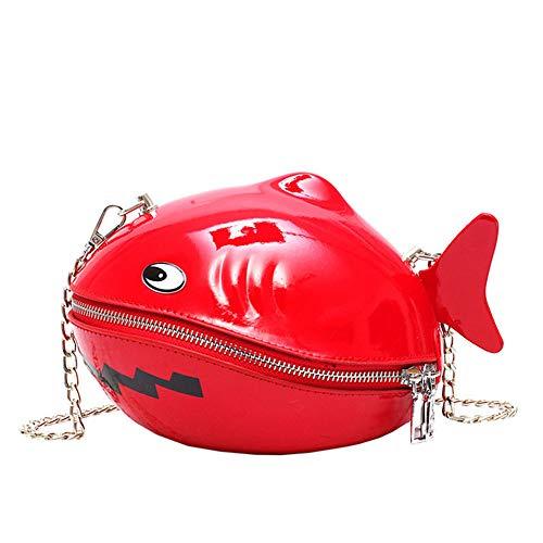 unbrand Mädchen Nette kleine Wal Form Handy Beutel Frauen Kupplungs Reißverschluss Handtaschen Telefon Schultertaschen Münzen Taschen