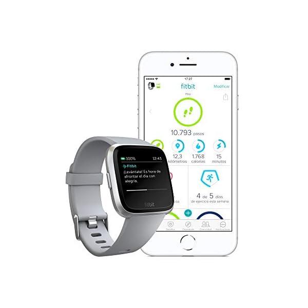 Fitbit Versa Smartwatch Deportivo, Melocotón 5