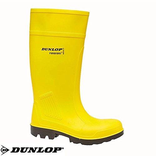 C462241 Pu Botas Jaune S5 Dunlop En Purofort t1tqOwR
