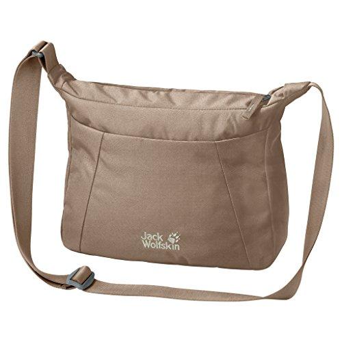 Jack Wolfskin Herren Valparaiso Bag Alltag Tasche Umhängetasche, Beige, One Size