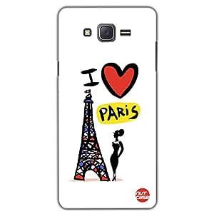 Designer Samsung Galaxy J5 Case Cover Nutcase - I LOVE PARIS