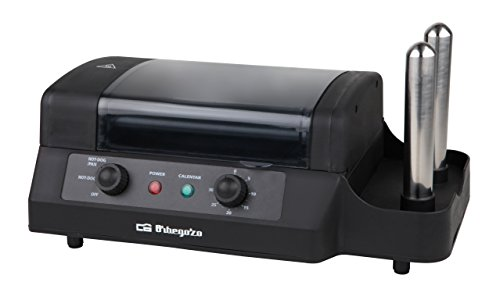 Orbegozo PR 3900–Machine à hot dog, noir