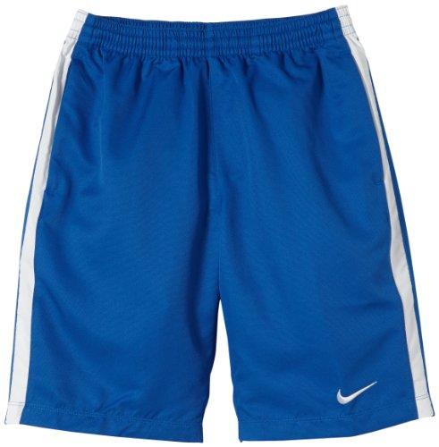 NIKE Jungen Shorts TS Longer  Woven, Royal Blue/White, L, 456004-463 (Short Jungen Nike Kinder)