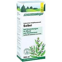 Salbei Saft Schoenenberger Heilpflanzensäfte 200 ml preisvergleich bei billige-tabletten.eu