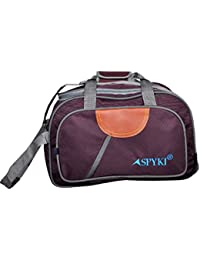 SPYKI 20 Inch Brown Color Unisex Travel Trolley Duffel Bag (25 Ltr) Capacity