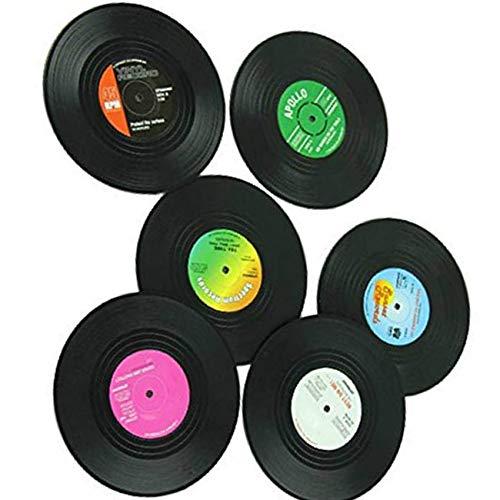 Vinyl Coaster Nehmen Cup Getränkehalter Matte Geschirr Tischset Teeglas Pad Dekoration ()