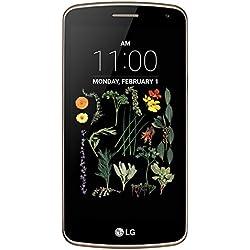 "LG K5 Smartphone, Display IPS 5.0"", Fotocamera 5MP con Frontale 2MP, Memoria Interna 8 GB, 1 GB RAM, Oro [Italia]"