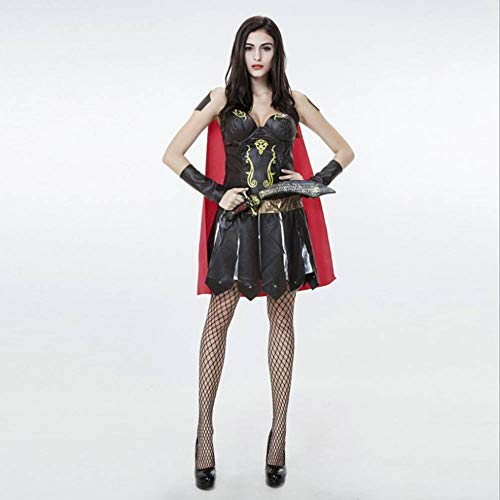 Krieger Göttin Kostüm - ASDF Halloween Kostüm griechische Göttin Gladiator Samurai Kostüme Krieger Anzug