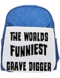El mundo del más divertidos Grave Digger impreso Kid 's azul mochila, para mochilas, cute small Mochilas, cute negro mochila, Cool mochila negra, moda mochilas, Gran moda mochilas, color negro moda