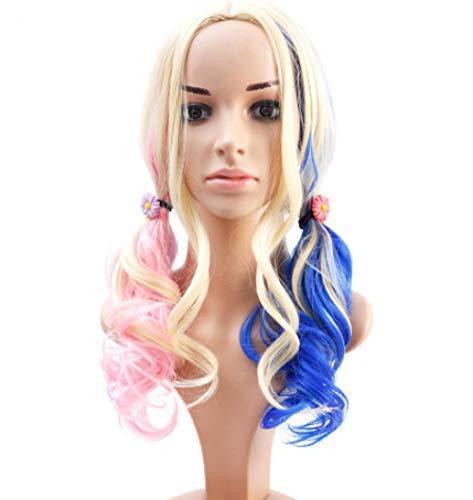 Anime Perücke Cosplay Perücke weiblichen mittellangen langen lockigen Haaren großen Wellen Farbstoff Anime (Waschbar Haar Farbstoff)