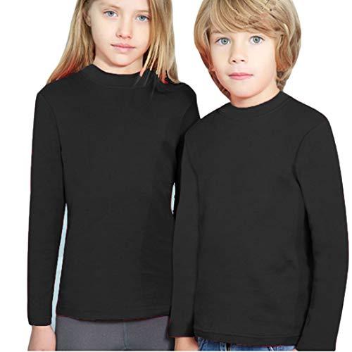 YSABEL MORA - Camiseta SEMICISNE Termal niñas Color: Negro Talla: 14