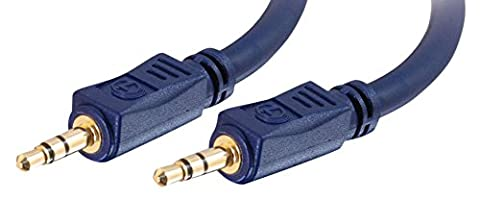 Cables To Go 80296 Câble stéréo audio 3.5mm M/M Velocity 2m