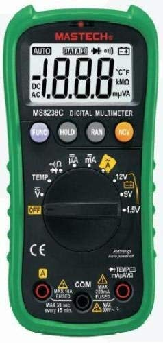 MS8238C Multimeter Digital MASTECH Profi Autorange Batterietest NCV Temperatur -