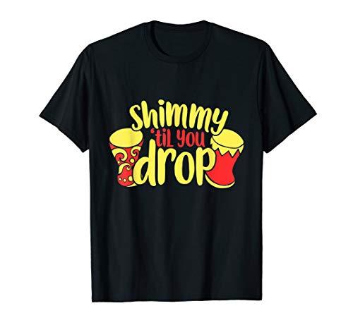 Shimmy bis zum Umfallen  T-Shirt - Umfallen Shirt