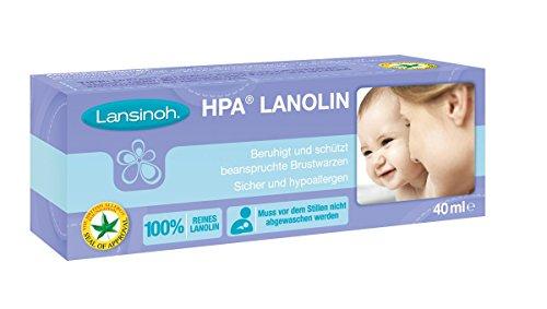 Lansinoh 99302 HPA Lanolin Brustwarzensalbe, 40 ml