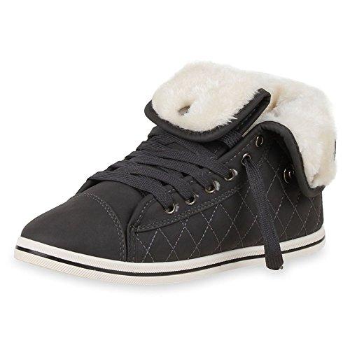 napoli-fashion , Chaussures de sport d'extérieur pour homme gris foncé