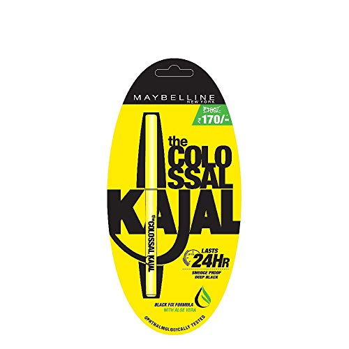 Maybelline New York Colossal Kajal, Black, 0.35g