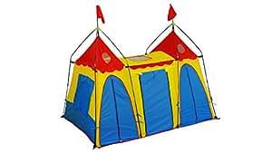 gigatent fantasy palace spielzelt kids play tent kinder spielhaus f r drinnen und drau en. Black Bedroom Furniture Sets. Home Design Ideas