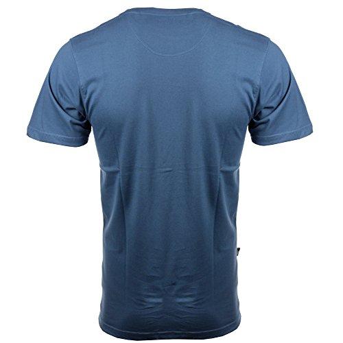 T-Shirt: Templeton Ashes BL Blau