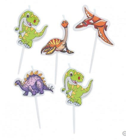 CANDELINE-COMPLEANNO-JURASSIC-DINOSAURI-73594