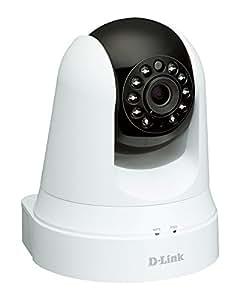 D-Link DCS-5020L Videocamera di Sorveglianza Wireless N, Funzionalità Range Extender, Motorizzata, Rilevatore di Movimenti e Suoni