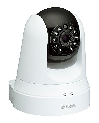 D-Link DCS-5020L Wireless Überwachungskamera  (integrierter Bewegungssensor), Tag und Nacht, kostenlose mydlink-App für iOS/Android)