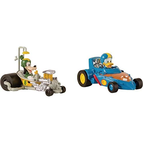 Mickey Roadster Racers Autos Donald & Pluto Pack Mickey & Seine Freunde Top Start