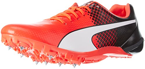 Puma Evospeed Electric Tricks, Zapatillas de Atletismo Unisex Adulto, Rojo-Rot (Red Blast-Puma Black-Puma White 01), 44.5 EU