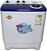 Nikai Twin tub Washing Machine 7Kg Capacity White and Navy Color- NWM700SPN21
