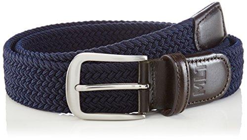 MLT Belts & Accessoires - Bali, Cintura Uomo, Blu (navy 1200), 105 cm (Taglia Produttore: 105 cm)