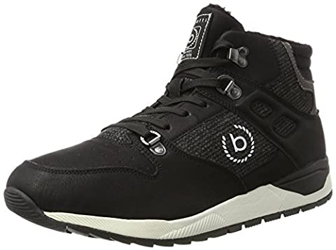Bugatti Herren 321287405900 Hohe Sneaker, Schwarz (Schwarz), 46