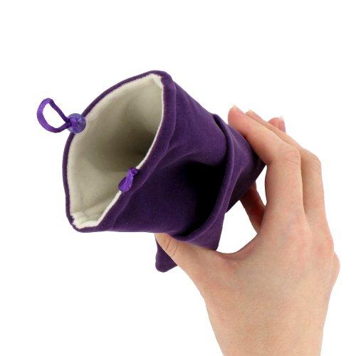 Ultraflache weiche Schutzhülle APPLE IPHONE 5C [Le Singe Premium] [Schwarz] von MUZZANO + STIFT und MICROFASERTUCH MUZZANO® GRATIS - Das ULTIMATIVE, ELEGANTE UND LANGLEBIGE Schutz-Case für Ihr APPLE I violett