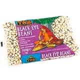 Bohnen, Black-Eye Beans - weiß mit schwarzen Augen, getrocknet, 500g