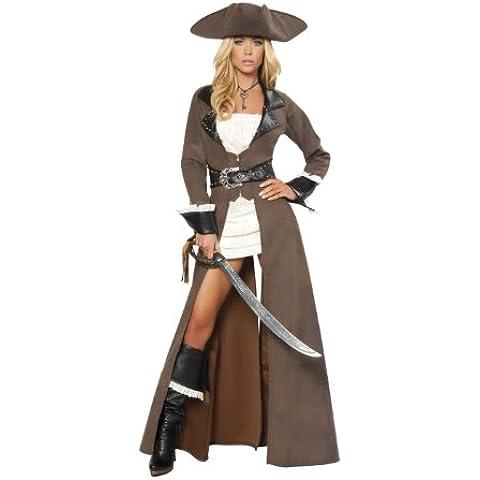 Deluxe pirata costume da donna
