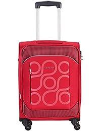 Kamiliant by American Tourister Kam Harita+ Polyester 54.5 cms Red Softsided Cabin Luggage (KAM HARITA+ SP55CM TSA-RED)