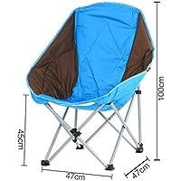 HRRH Silla plegable portátil al aire libre para el taburete de pesca de la pesca para la silla de la pesca Silla trasera del apoyabrazos que acampa Taburete de la barbacoa, A