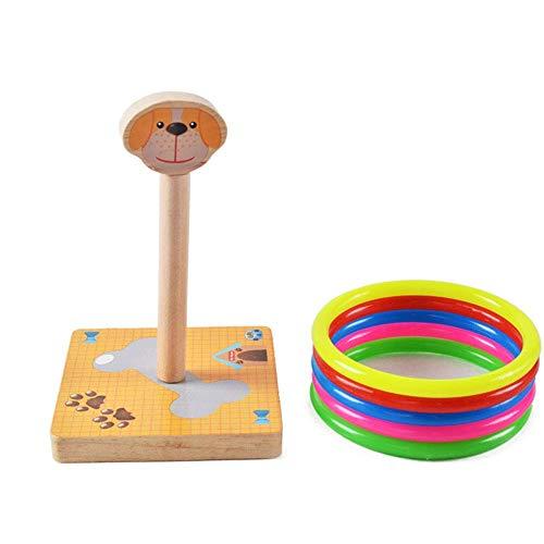 Fliyeong Holzzwinge Spielzeug Tierzwinge Spiel Spielzeug Zwinge Spielzeug Übung Hand-Auge-Koordination für Kinder Langlebig und nützlich