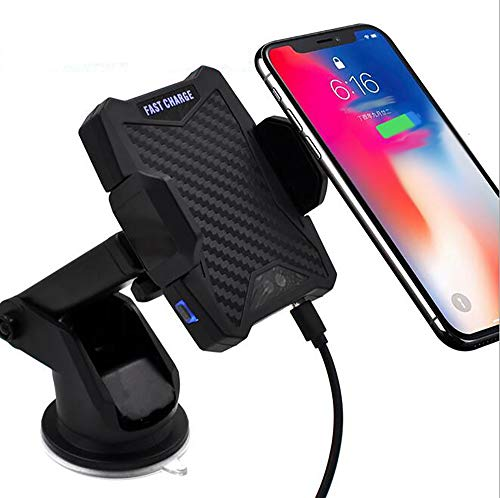 QXXZ Wireless Car Charger Automatische Infrarot-Sensor Auto Mount Air Vent Telefon Halter Cradle Für iPhone 8/8 Plus/X Samsung S9 S8