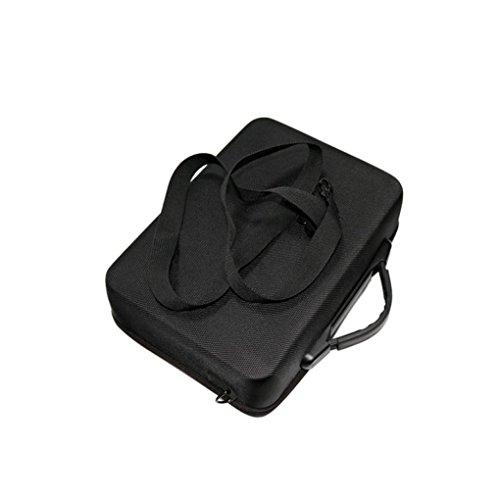 Fulltime® PC + ABS Hardshell Wasserdichte Tragetasche Suitcase Umhängetasche für DJI Mavic Pro RC Quadcopter, 29 x 21 x 11cm, Schwarz (Schwarz) - 8