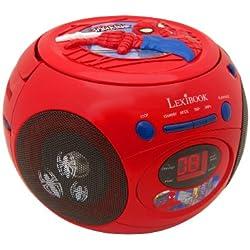 LEXIBOOK- RCD103SP - Radio Lecteur CD Spider Man