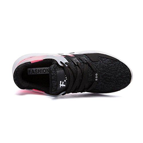 Autunno e inverno Scarpe sportive da uomo moda tempo libero scarpa indossare jogging scarpa black powder