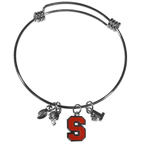 Siskiyou NCAA Syracuse Orange Charme Armreif Armband Syracuse-armband