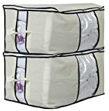#8: HomeStrap Big Underbed Storage/Organizer with Window On 3 Sides – Pack of 2
