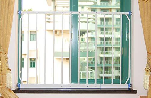 fenstergelaender Balkon-Fenster-Leitschiene, Fenster-Geländer, Kind-Schutz-Fenster-Sicherheits-diebstahlsicherer Netzwerk-Durchschlag frei (größe : 100-165cm)