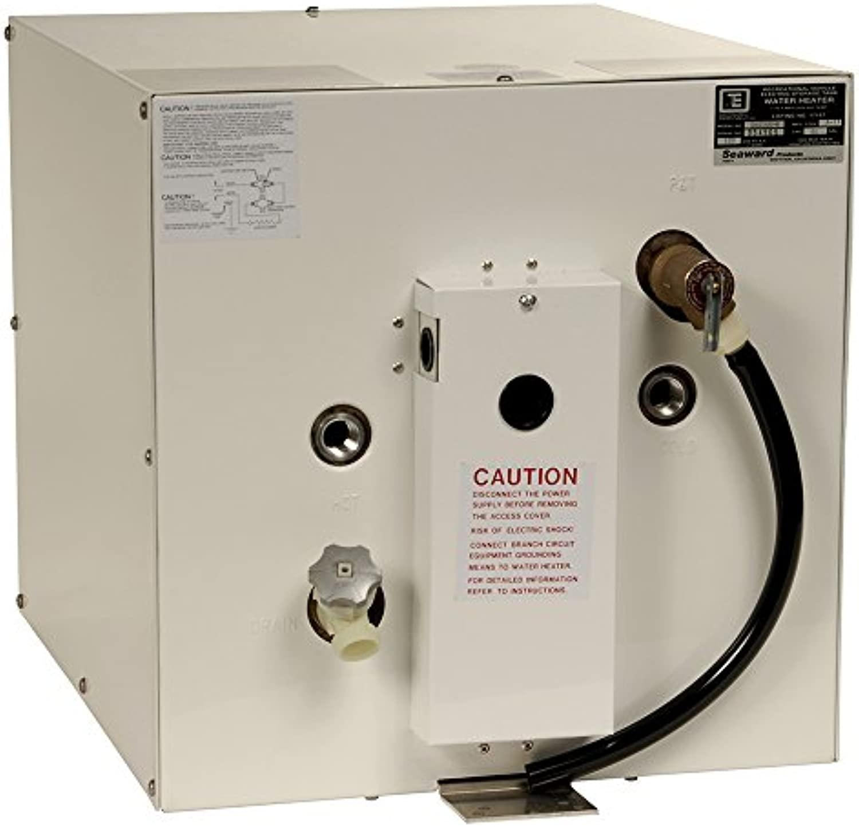 Whale Marine Whale Seaward 11 Gallon Hot Water Heater   White Epoxy   240V   4500w