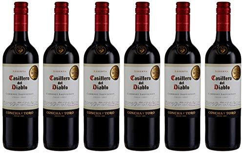 Casillero del Diablo Cabernet Sauvignon Wine 75 cl (Case of 6)