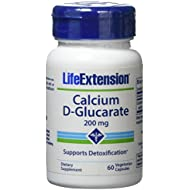 Life Extension Calcium D-glucarate 200 Mg , 60 Capsule