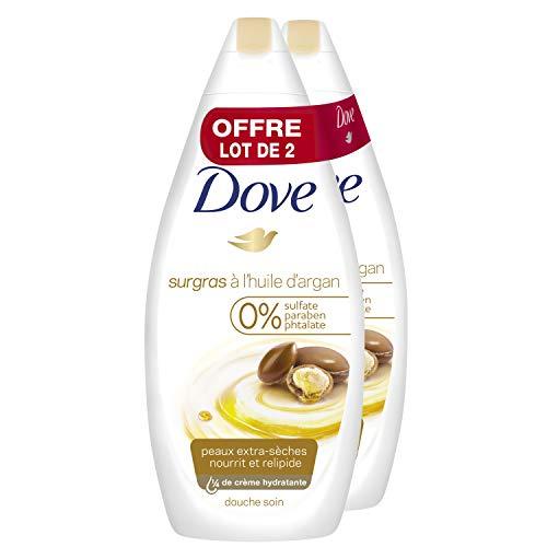Dove Duschgel mit Arganöl, 750 ml, 2 Stück