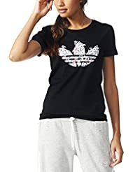 adidas Trefoil Vines - Camiseta para mujer