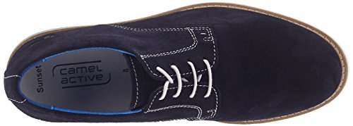 camel active Sunset 11, Scarpe Stringate Uomo Blu (Midnight 02)